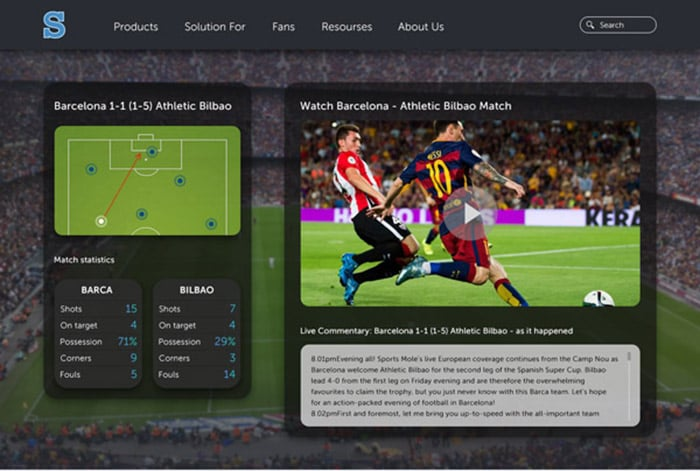 DataArt case study: Applications Suite for a Sports Analytics Company