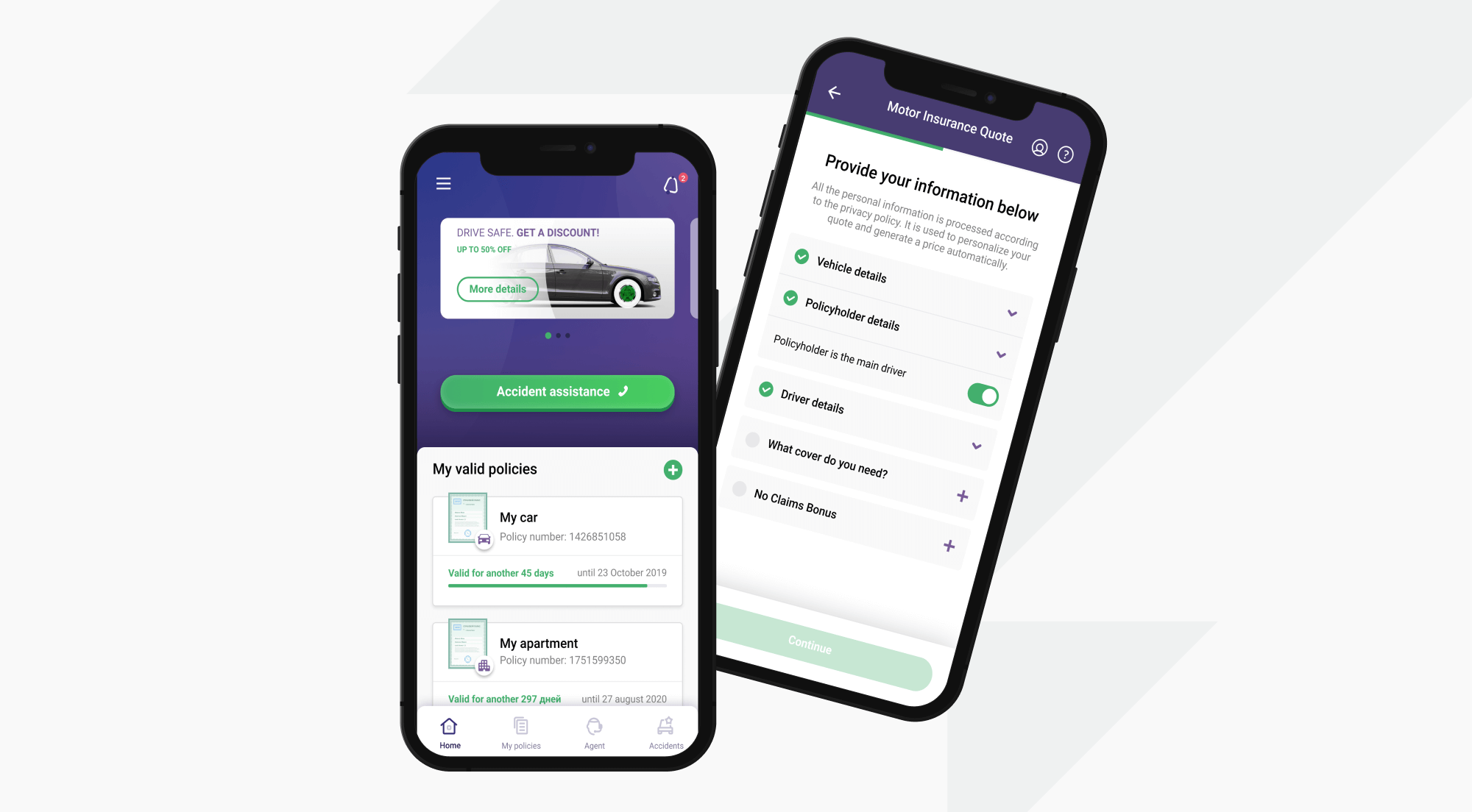 Mobile Insurance Application